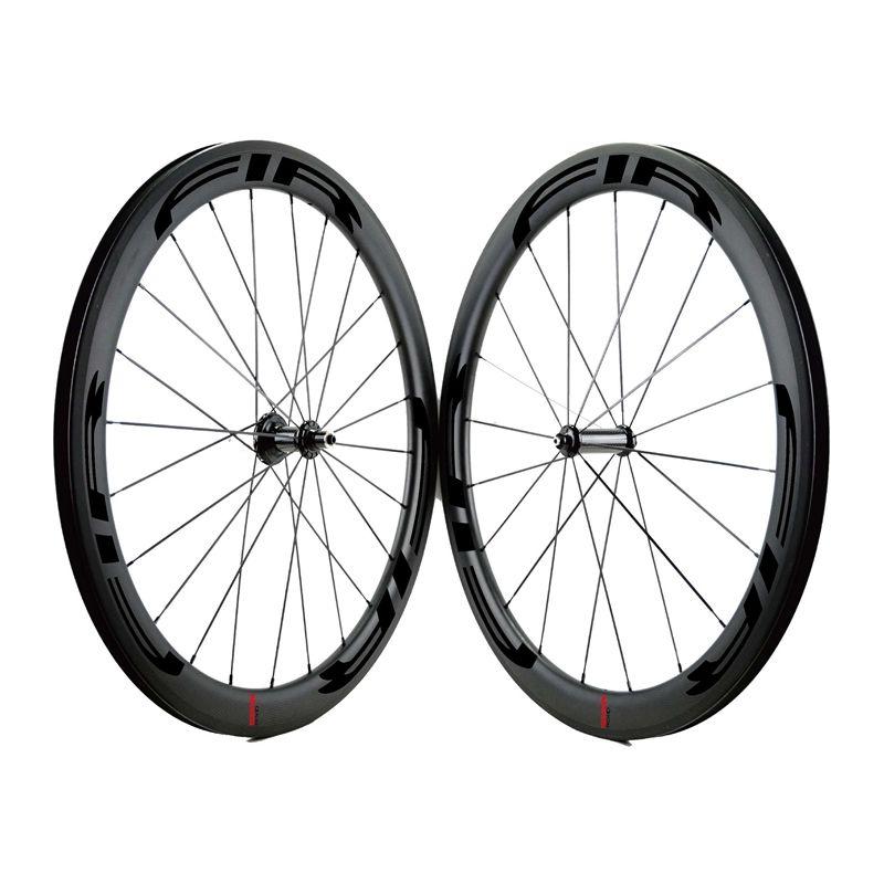FIR 탄소 도로 자전거 휠 탄소 스트레이트 허브 25mm 넓은 관 클린 처 700C를 당겨 휠 커플 탄소 바퀴
