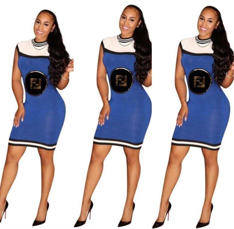 Kadın tasarımcı diz üstü etek kısa kollu tek parça elbise yüksek kaliteli ince elbise seksi zarif lüks moda etek sıcak satış klw1674