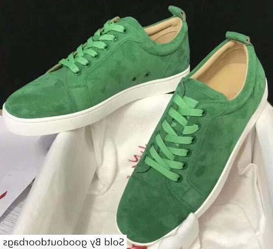 Дизайнер Red Bottom ботинка Low Cut Замша Spike роскошь для мужчин и женщин обувь Свадебная хрустальной кожа кроссовки l7