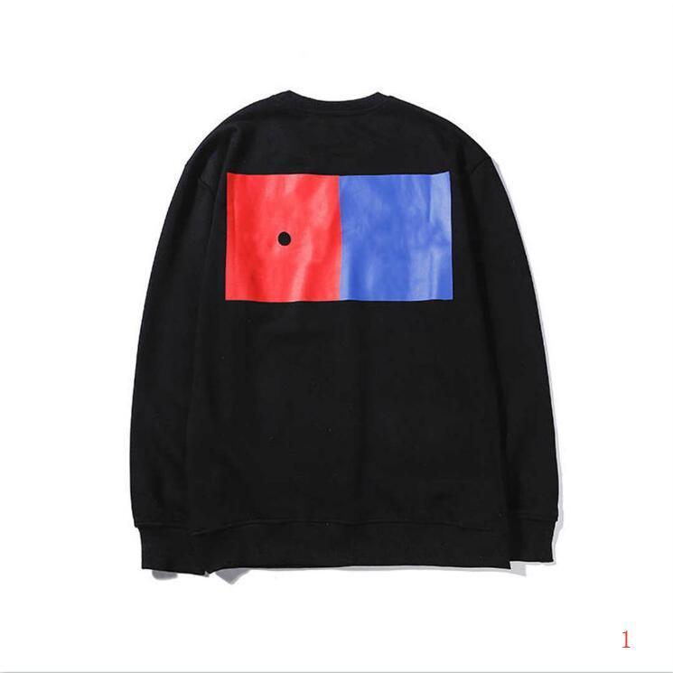 2020 Spring Sweats à capuche Avec Marque Modèle Luxe Hommes Hoodies Streerwear Mode overs manches longues à quatre feuilles de trèfle Vêtements