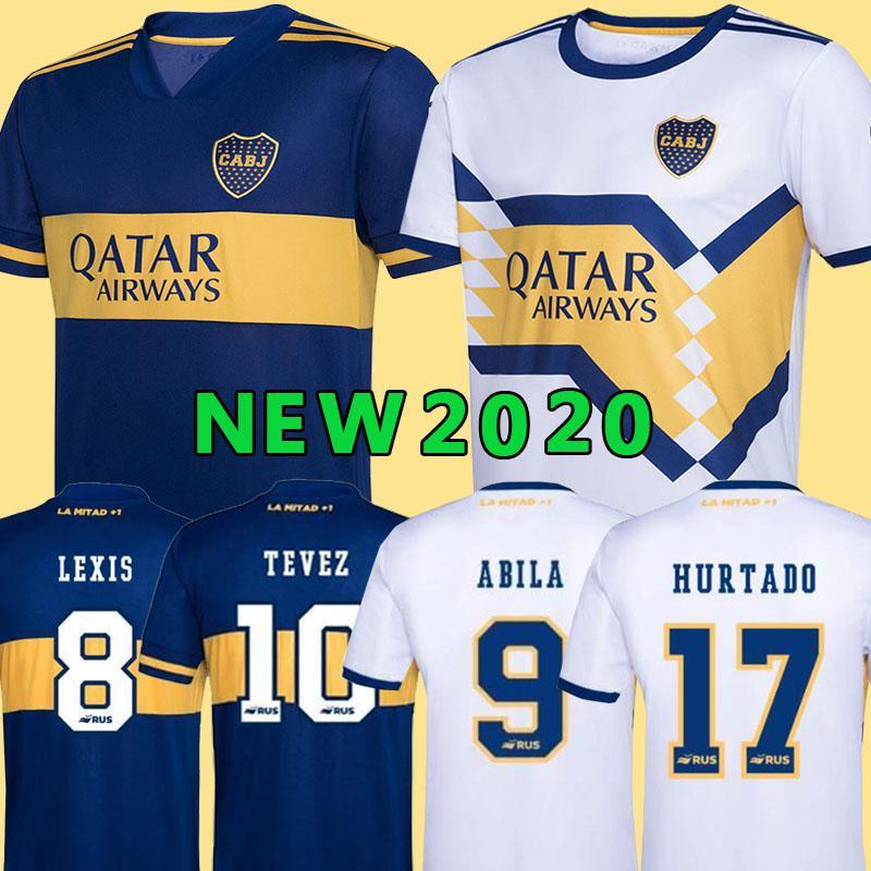 2020 2021 بوكا جونيورز لكرة القدم جيرسي الرئيسية بعيدا 20 21 بوكا جونيورز تيفيز MARADONA MOURA ABILA رينوسو DE ROSSI JRS قميص كرة القدم الرياضة