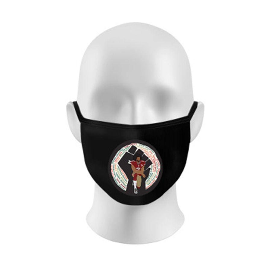 Designer Lettre Lettre Masque lavable Anti-poussière équitation Sports Cyclisme Imprimer Masques Mode pour les hommes et les femmes Xhh9-3061 # 741
