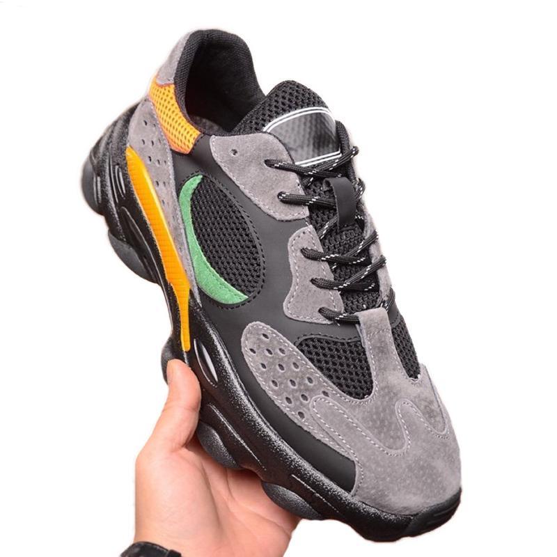 Luxe Fashion Designer hommes respirant chaussures de sport d'extérieur Solide Gris Noir Formateurs multi luxe Triple High Top Taille Qualité 38-44