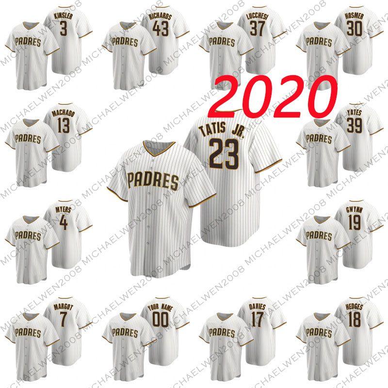 2020 23 Fernando Tatis Jr 13 Manny Machado 3 Ian Kinsler 4 Wil Myers 7 Margot Manuel 17 Zach Davies 18 Austin Hedges 19 Tony Gwynn maglie