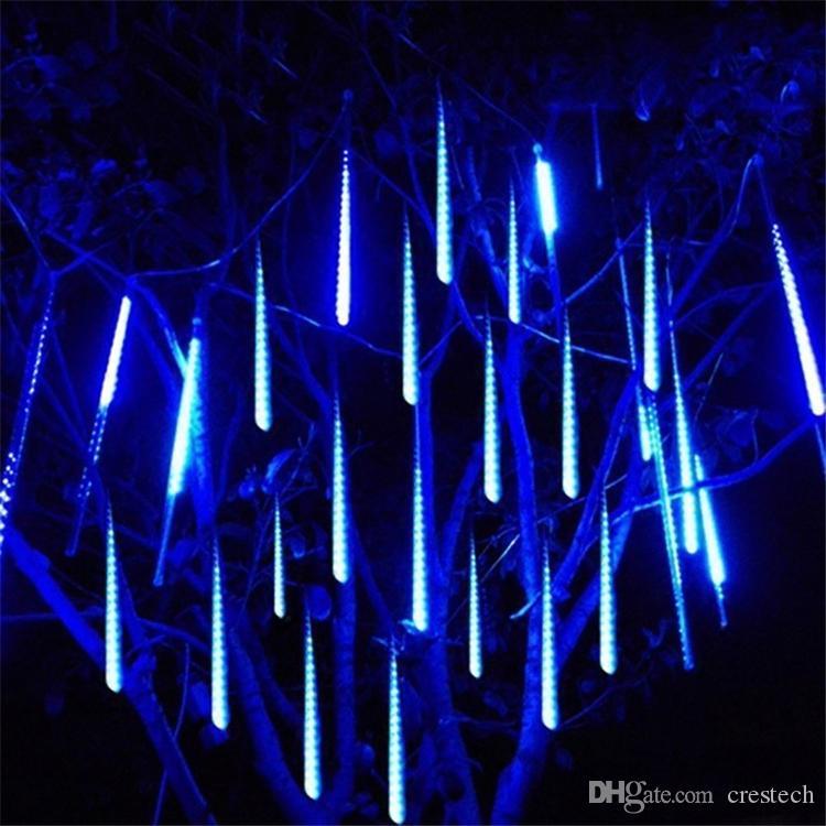크리스마스 (30) / / 80cm 50 유성우 비 LED 문자열 조명 방수 야외 새해 장식 트리 주도 파티 장식