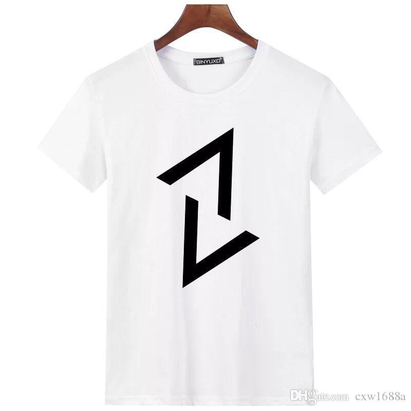 Luxury Mens Designer T Shirt Designer Casual Short Sleeves Fashion Shark Printing High Quality Men Women Hip Hop Tees 1758