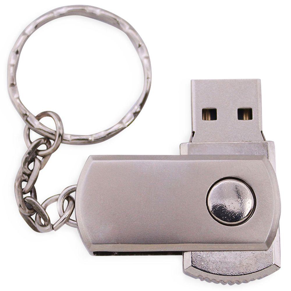 Free Laser Logo 100PCS 128MB/256MB/512MB/1GB/2GB/4GB/8GB/16GB Swivel USB Flash Drive Metal Memory Pendrive Stick + Keychain Genuine Storage