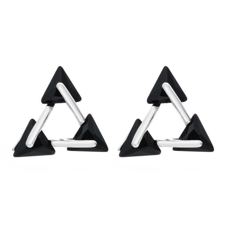 Корейская мода темперамент треугольник Циркон серьги подходит для женщин / девочек день рождения / свадьба ювелирные изделия Серьги ER-301