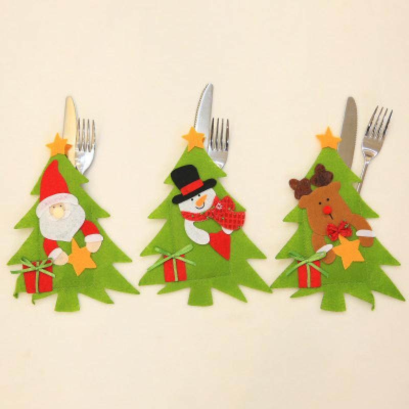 Rifornimenti creativi della disposizione del ristorante di natale della decorazione del partito della cena della famiglia della cena del pupazzo di neve di Natale