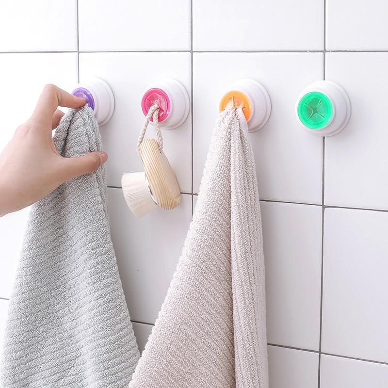 1 STÜCKE Handtuchhalter Sucker Wand Fenster Bad Werkzeug Bequem Küche Lagerung Haken Waschen Tuch Kleiderbügel Rack Neue
