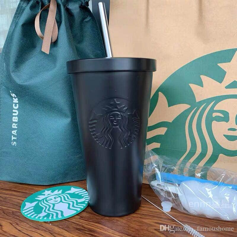 HOT Starbucks Stainless Steel Suction Cup Goddess Insulation Cup Creative Coffee Cup 10 kind of different design