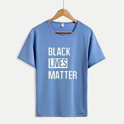 BLACK LEBT MATTER T-Shirts der Frauen der neuen Ankunfts-Kurzschluss-Hülsen-T-Shirts der Männer Letter Print Tops Damen beiläufige Outsoorwears Aufmaß Hot Sale