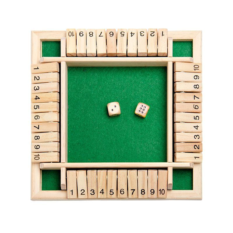 Четырехсторонний флоп игры Цифровые игровые игрушки Детские образовательные родитель-ребенок настольные игры Бар партия случайные азартные игры