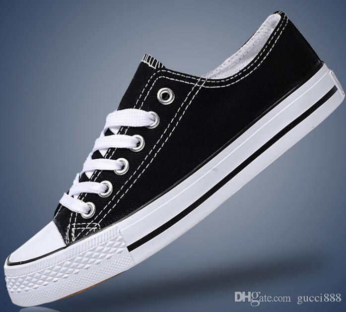 Drop Shipping Alle Größe 35-46 High Top Sportstars Low Top Classic Canvas Schuh Sneakers Herren Damen Freizeitschuhe