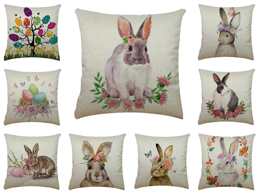3D Shrimp U Shape Rabbit Pillow Creative Throw Rabbit Pillow Pepper Eggplant Plush Neck Cushion Soft Comfort Rabbit Pillow#509