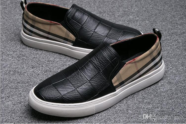 Новое поступление мужская замша кожаные мокасины мужские свободного покроя вышивка мокасины оксфорды обувь человек ну вечеринку вождения квартиры J44