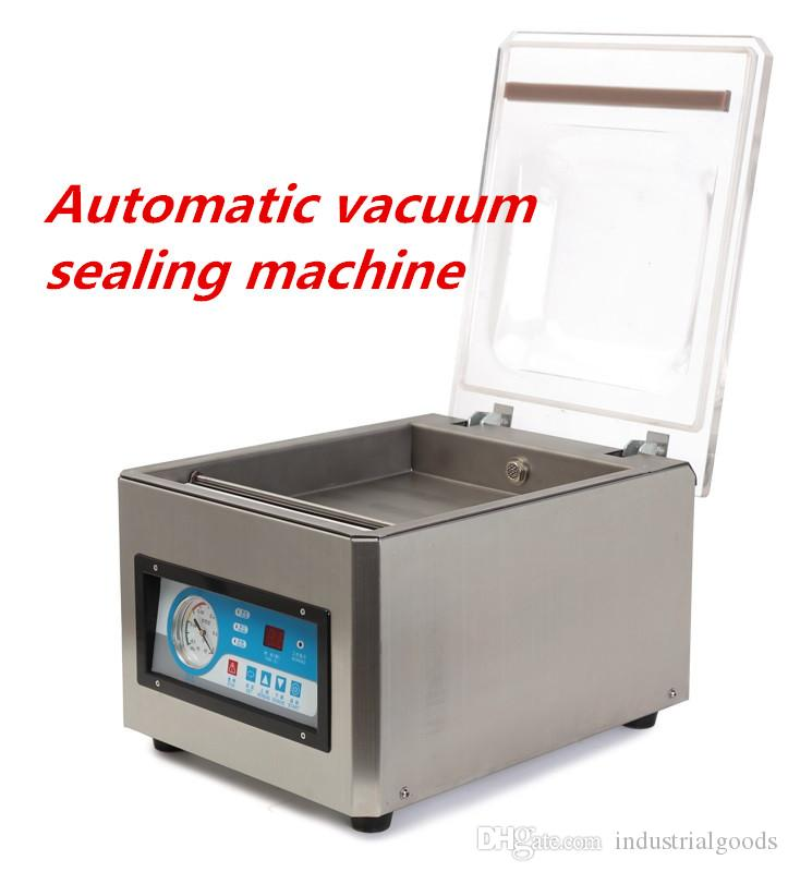 Automatic vacuum sealing machine packing machine vacuum sealer food packaging equipment DZ-260