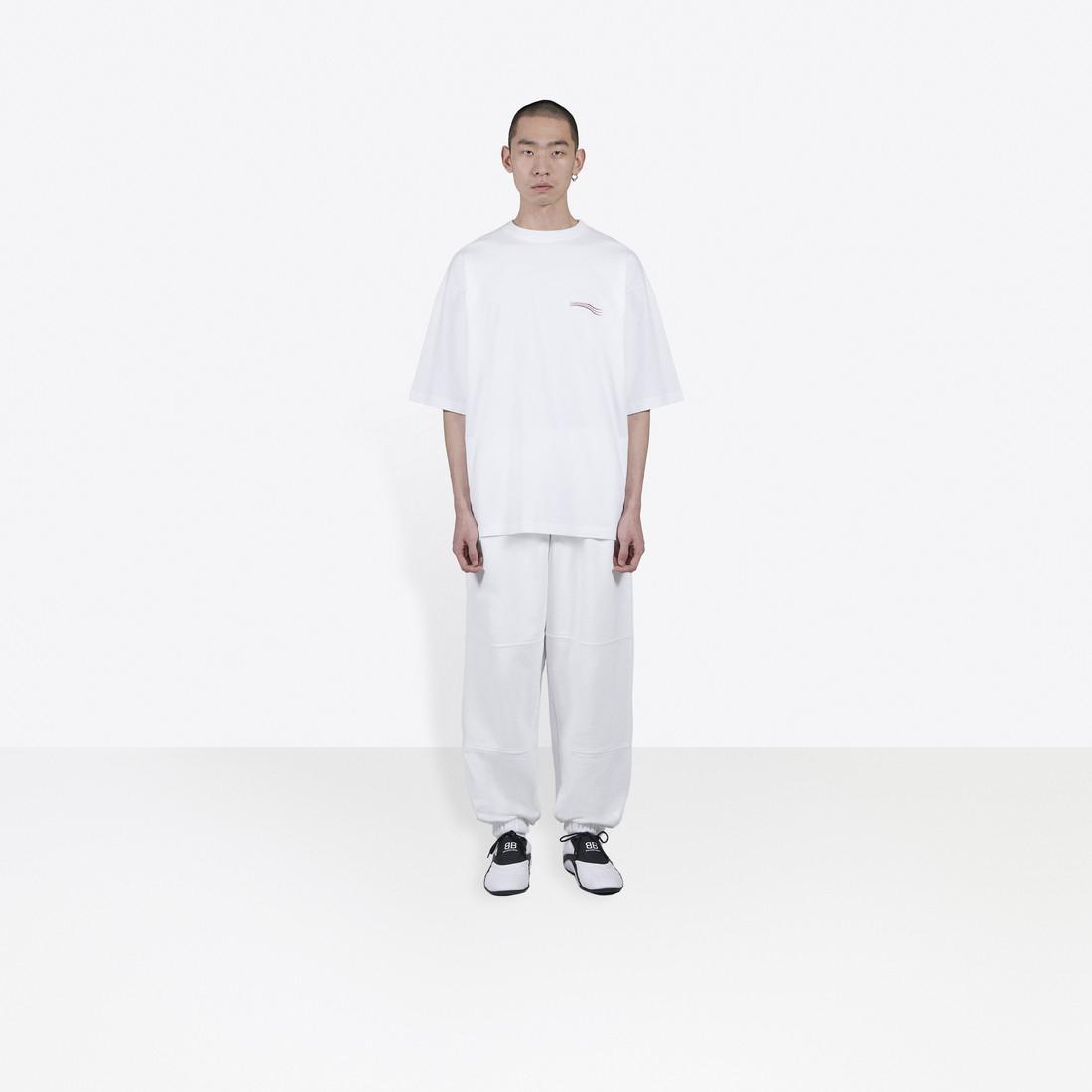 Fatto in Italia Tee versione alta progettista degli uomini della maglietta Logo del marchio di stampa di grandi dimensioni donne di estate della maglietta di qualità T-shirt Tops BB7356