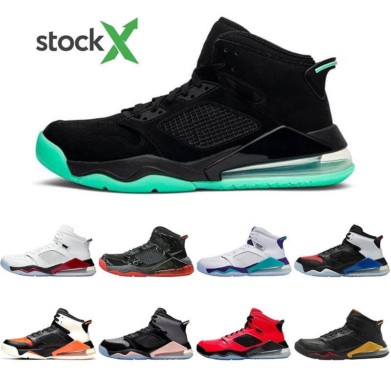 Nike Air Jordan Mars 270 Con calze Pallacanestro scarpe Verde Glow pattini correnti uomini donne Flre Uva nera Shatterad Tabellone mens Classic Sport scarpa da tennis