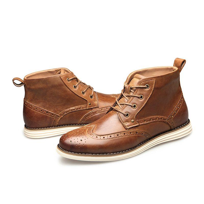 Designer-Schuhe Herren-Stiefeletten aus Wildleder Innen Martin Stiefel Australien Männer Winterstiefel Leder-Partei-Hochzeit Schuhe Flat Business Turnschuhe