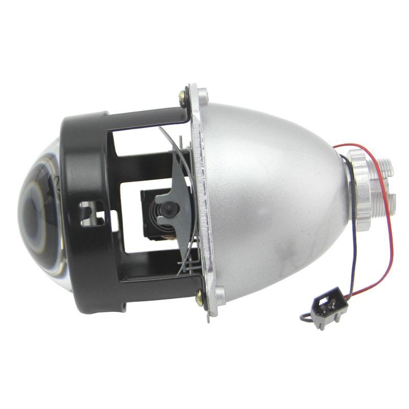 Мини 2.5 дюймов HID би-ксеноновые ЛВРЛ Привет-Ло свет фар автомобиля модернизации стайлинга на h1 объектив проектора фары линзы использовать Н1 лампы Н4 Н7