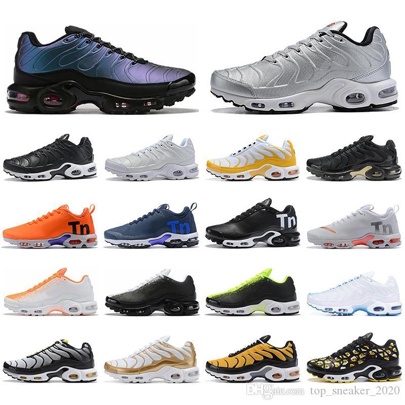NikeairmaxTNPlus con CalcetinesAireMaxTN Plus Triple Negro Blanco Hombres Mujeres Running Shoes Royal Navy Orange OG Formadores de primera calidad zapatillas deportivas