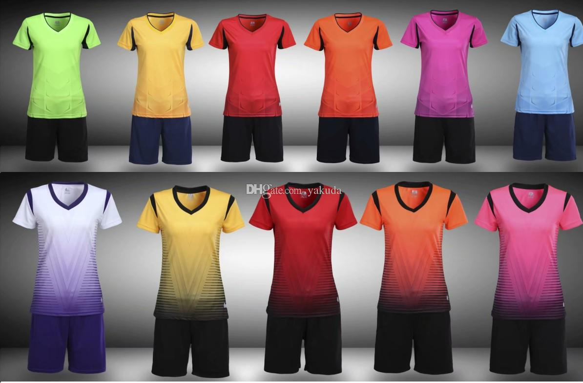 2021 2019 New Women Customized Soccer Jerseys With Shorts Near Me Streetwear Trainers Cheap Training Jersey Short Women Online Shopping Stores From ...