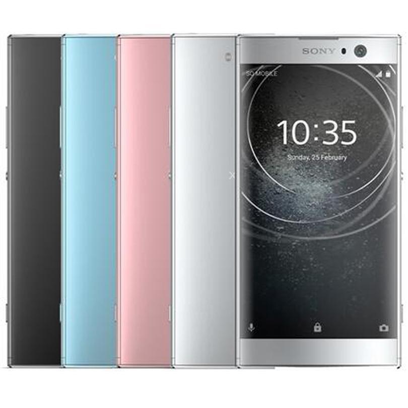 تجديد الأصل سوني اريكسون XA2 5.2 بوصة الثماني الأساسية 3GB RAM 32GB ROM 23MP كاميرا NFC الشحن السريع 3.0 4G LTE مقفلة الهاتف الذكي 10PCS