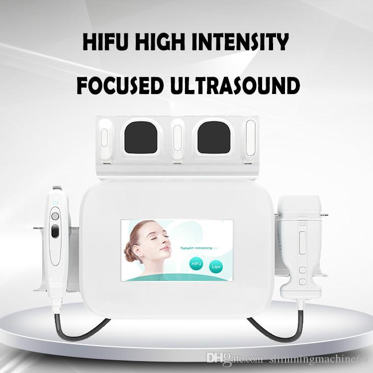 Macchina di rimozione portatile della cellulite del corpo della macchina di ultrasuono del portatile della macchina di ultrasuono di Hifu Liposonix e HIFU 2 IN 1