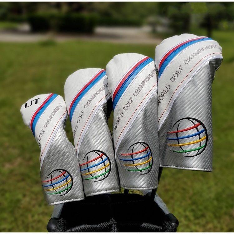 WGC World Golf Championship Golf Club Fairway Bois conducteur 1 3 5 Hybird Headcover Club de couverture pour la livraison gratuite