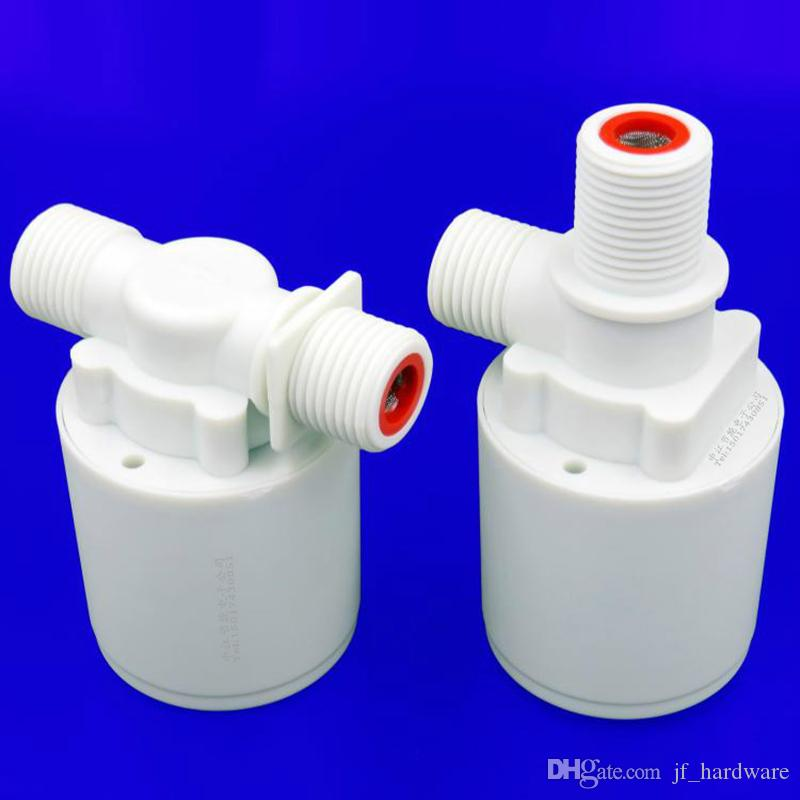Float Valve for Water Tank Sink Water Towers Fully Automatic Water Level Float Control Valve Free Plug Inlet Valve Outlet Valves G1/2""