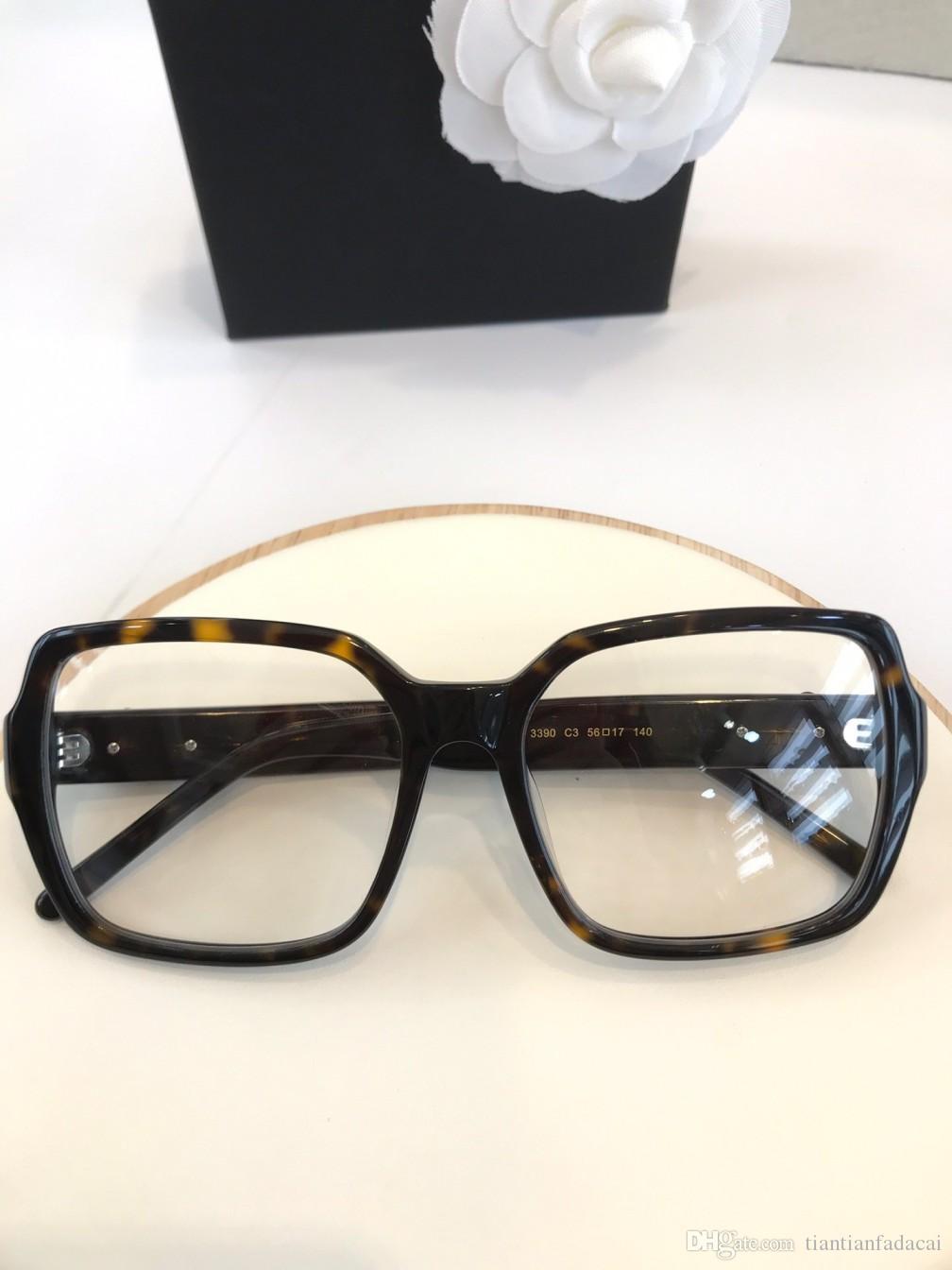 3390 óculos de armação claras lense johnny depp óculos de miopia óculos Retro Óculos de grau homens e mulheres óculos de miopia quadros