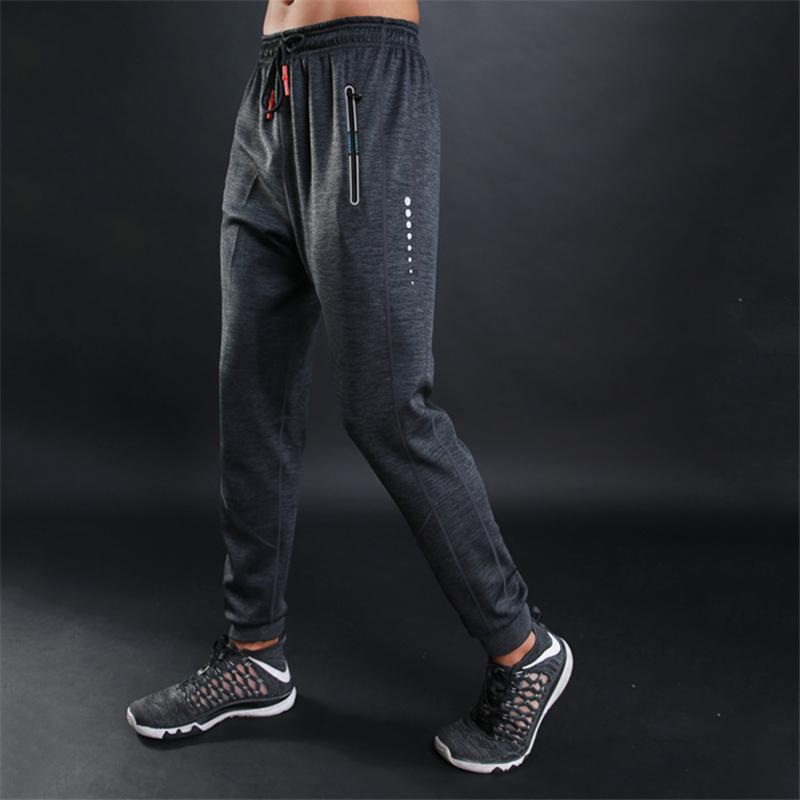 2019 New Calça de Jogging Homens Corredores Academia Sport calças Caminhadas Basketball Sweat Gym físico Corrida Calças Masculino