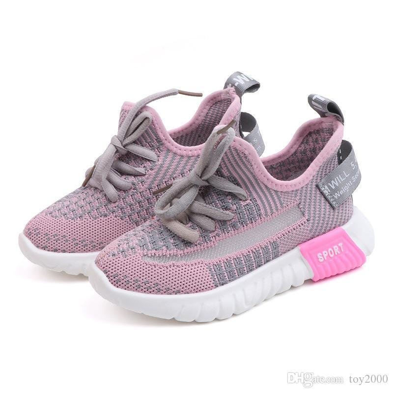 Designer Kids Shoes Children Baby Toddler Run Shoes Sport Breathable Running Shoes For Boys Girls high quality Sneakers