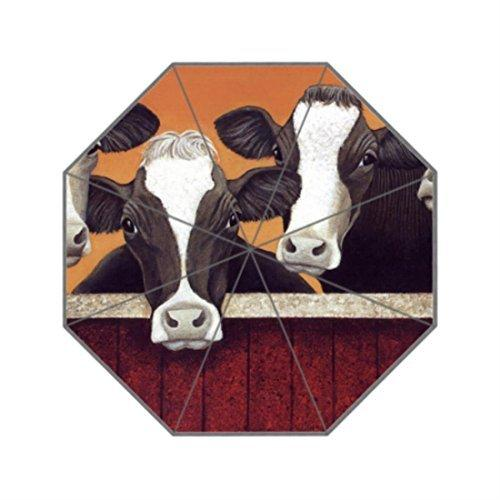 a9e16cddc9d0 2019 Funny Milk Cow Custom Sun Rain Anti UV Foldable Umbrella Travel  Umbrellas For Women Compact From Xiaohaoxiao, $23.35 | DHgate.Com