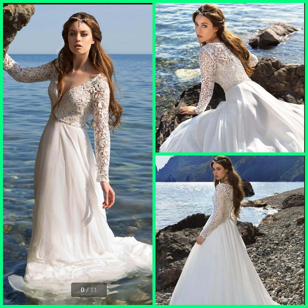 Discount 2020 New Arrival Boho Chiffon Summer Beach Wedding Dresses Long Sleeve Lace A Line Deep V Neck Sexy Bridal Gowns Victoria Bride Best Selling Bridal Wedding Dresses Bride Gowns From Wedding940599384,Wedding Dressing Table