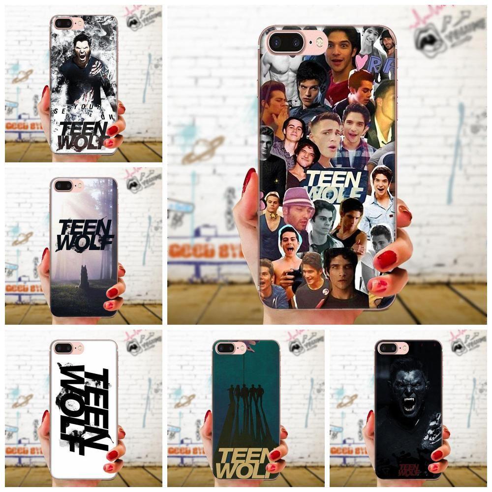 Custom TPU Fashion Cover Case Teen Wolf For Sony Xperia Z Z1 Z2 Z3 Z4 Z5 compact Mini M2 M4 M5 T3 E3 E5 XA XA1 XZ Premium