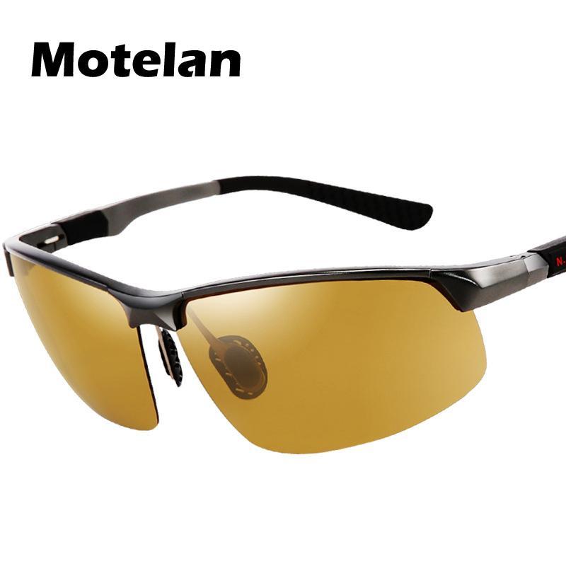 Men's Day Night Photochromic Polarized Sunglasses Man Sunglasses For Drivers Male Safety Driving Fishing Uv400 Sun Glasses C19022501