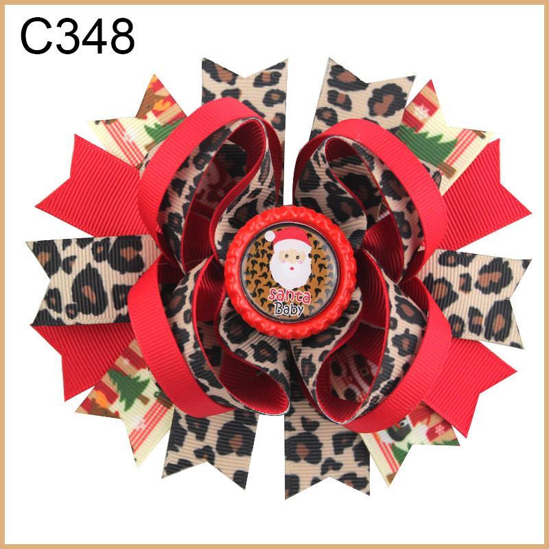 الأزياء عيد الميلاد الأقواس أقواس الشعر الطابع الشحن المجاني G مجموعة 30PCS korker الشعر غير تقليدي