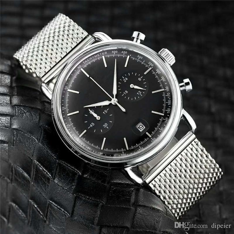 Все Subdials Работа 2020 Горячая продажа AR Fashion Man Часы вскользь Роскошная кварцевые часы Montre Часы Relojes De Marca Наручные часы