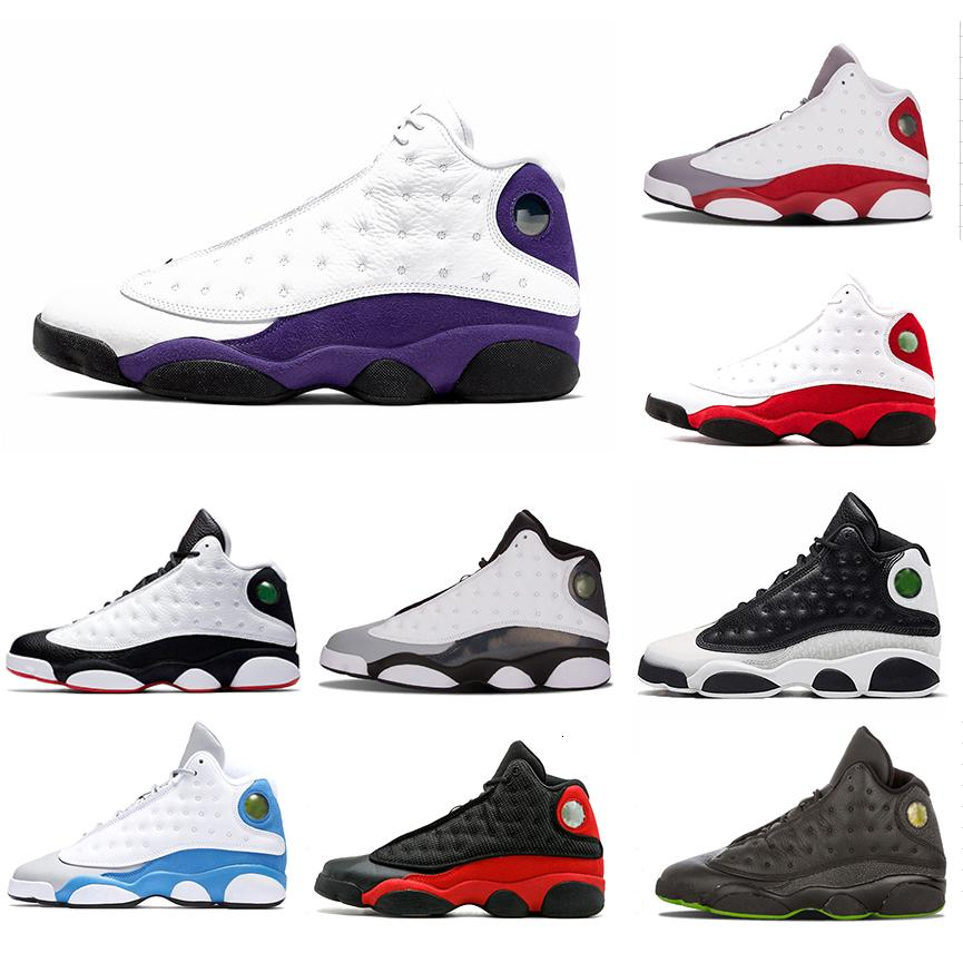 LA Cap and Gown 13 mens basketball shoes playoff Class of 2002 13S Phantom Chicago Altitude Bred He Got Game sports Sneakers