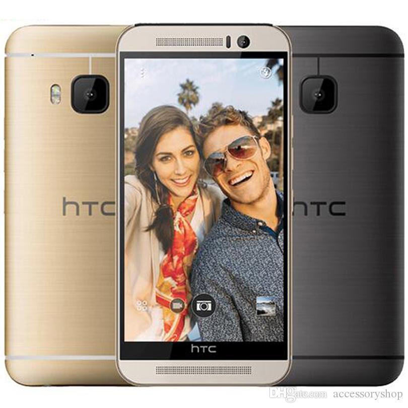 تم تجديده HTC ONE الأصلية M9 الولايات المتحدة مقفلة الاتحاد الأوروبي 5.0 بوصة الثماني الأساسية 3GB RAM 32GB ROM 20MP 4G LTE مقفلة الهاتف الخليوي الجوال DHL الشحن 1pcs