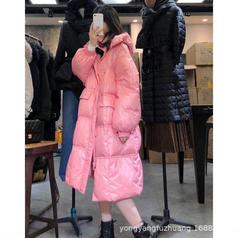 Ölü sezon 2020 yeni Sidney Ekmek ceket Kadın Orta uzunlukta kalınlaşmış ekmek ceket kış gevşek zayıflama ördek aşağı aşağı