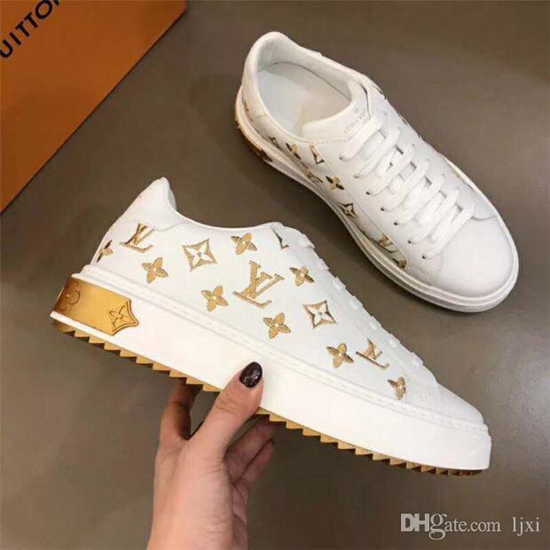 sandali da di donna la conception di chaussures de sport de plate-forme de jogging de luxe lusso chaussures de marche paillettes size35-41