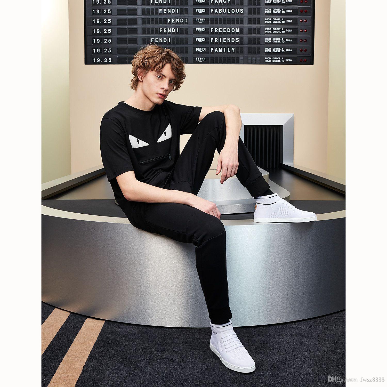 Modello magliette di estate Donne 2020SS nuovo Mens camicia Designer di lusso della moda di Parigi maglietta maschio superiore 100% cotone Top Tee 256471