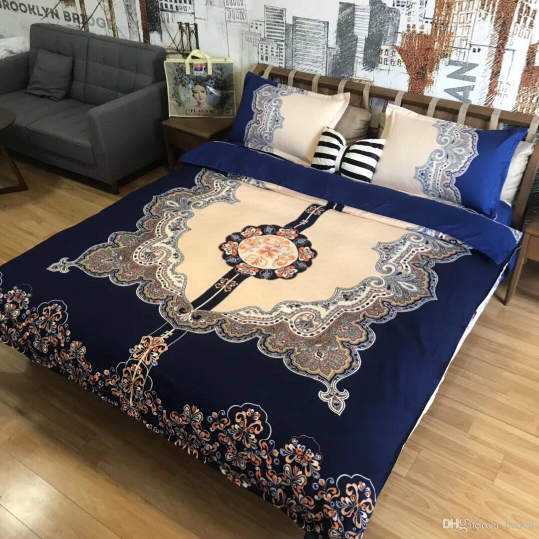 moda conjuntos de cama de luxo roupa de cama de moda simples estilo conjunto de cama inverno completo rei conjuntos de cama queen size cama