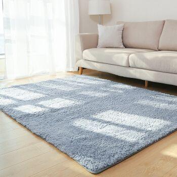 Großhandel Wohnzimmer Teppich Bereich Feste Teppich Flauschige Weiche Home  Decor Weiß Plüsch Teppich Schlafzimmer Küche Fußmatten Weiß Teppich Tapete  ...