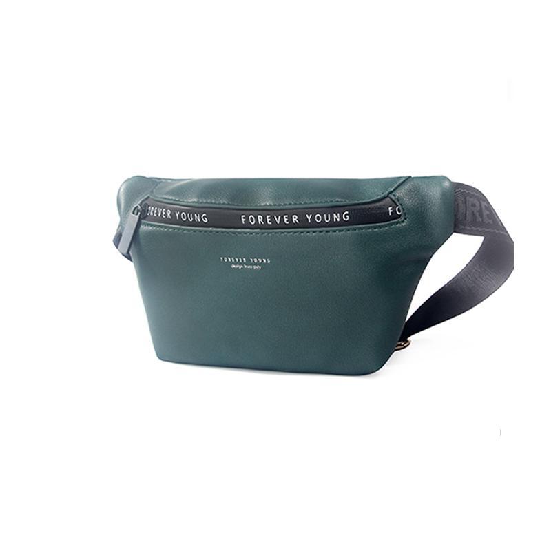 Saco de ombro de couro unisex sacos crossbody para as mulheres moda sac bolsa de cintura pacote de bolsas multi-função saco do mensageiro