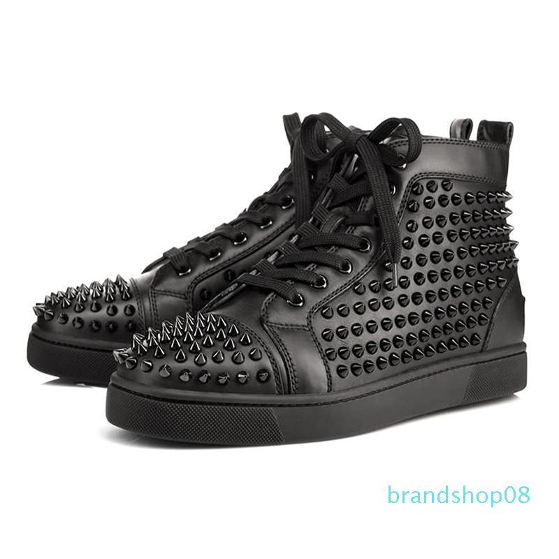 2020 sneakers pico sapatos de grife de moda tamanho azul de couro branco camurça vermelha Graffiti fundos planos ocasional luxo sapato 36-47