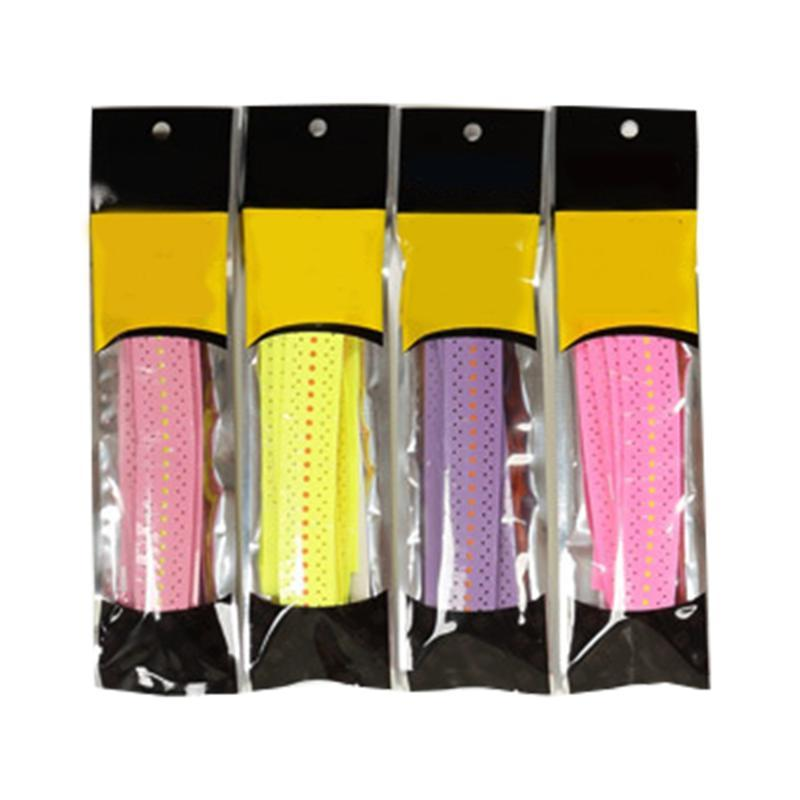 4pcs Tennis Badminton Racket aperto Racket Keel mão de borracha antiderrapante Tafilete absorvente Tape Overgrip Fishing Rods Tafilete